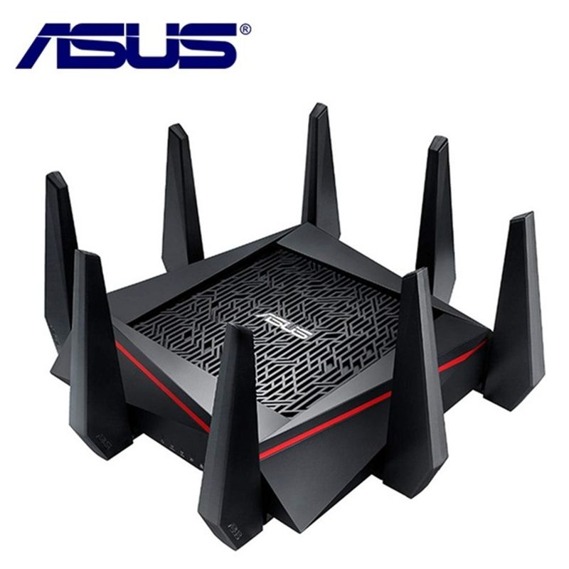 ASUS RT-AC5300 5334Mbps Wireless Router AC5300 2.4GHz/5GHz Tri-Band MU-MIMO Gigabit Wifi Repeater Router