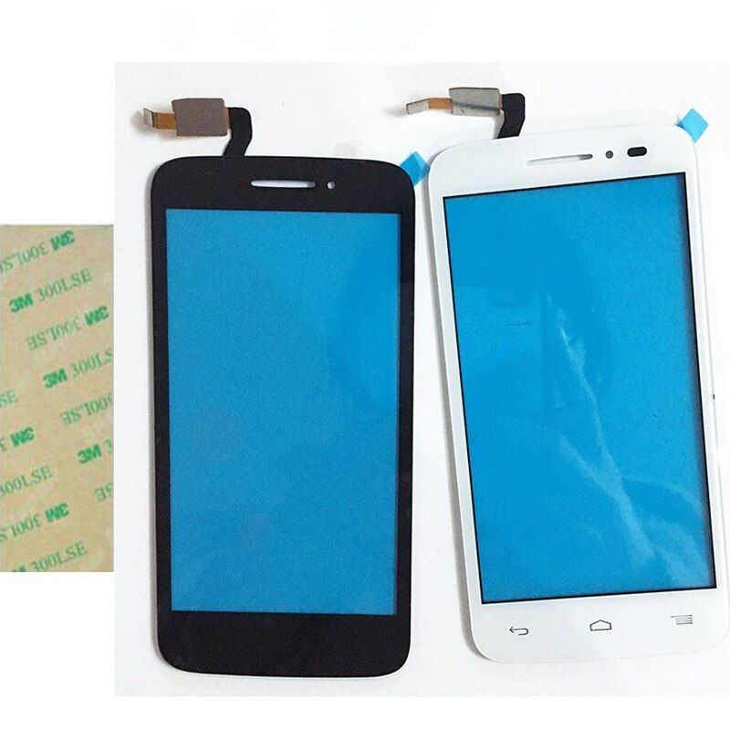 2 Color Touchscreen For Alcatel One Touch POP 2 5042D OT5042 5042 Touch Screen Digitizer Panel Front High Glass Lens