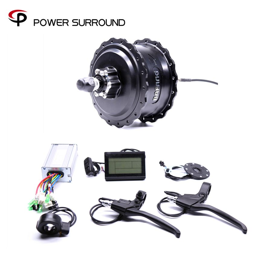 Eletrica 2018 Rushed 48v750w Bafang Fat Rear Electric Bike Conversion Kit Brushless Motor Wheel With Ebike System