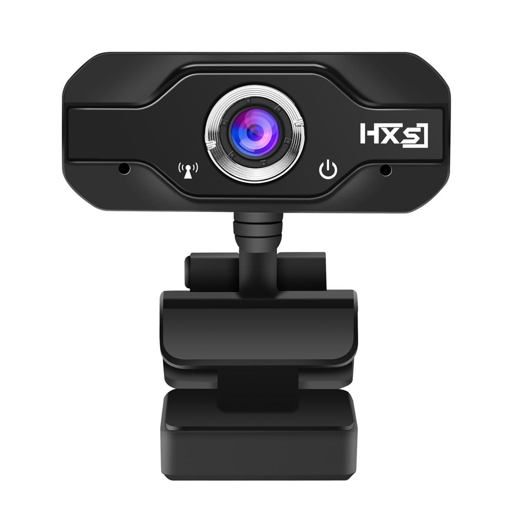 HXSJ S50 USB Web Camera 720P HD 1MP Computer Camera Webcams Built-in Sound-absorbing Microphone 1280 * 720 Dynamic Resolution