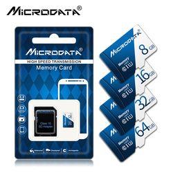 Карта памяти высокого качества Micro SD карта класса 10 флеш-карта памяти TF микро SD 64 ГБ 32 ГБ 16 ГБ 8 ГБ внешний флеш-накопитель флэш-память