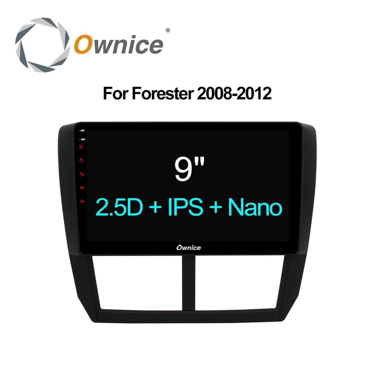 Ownice C500+ Octa Core Android 6.0 32G ROM 2.5D IPS Car DVD GPS Navi Player Radio For Subaru Forester XV WRX 2008 2009 - 2012