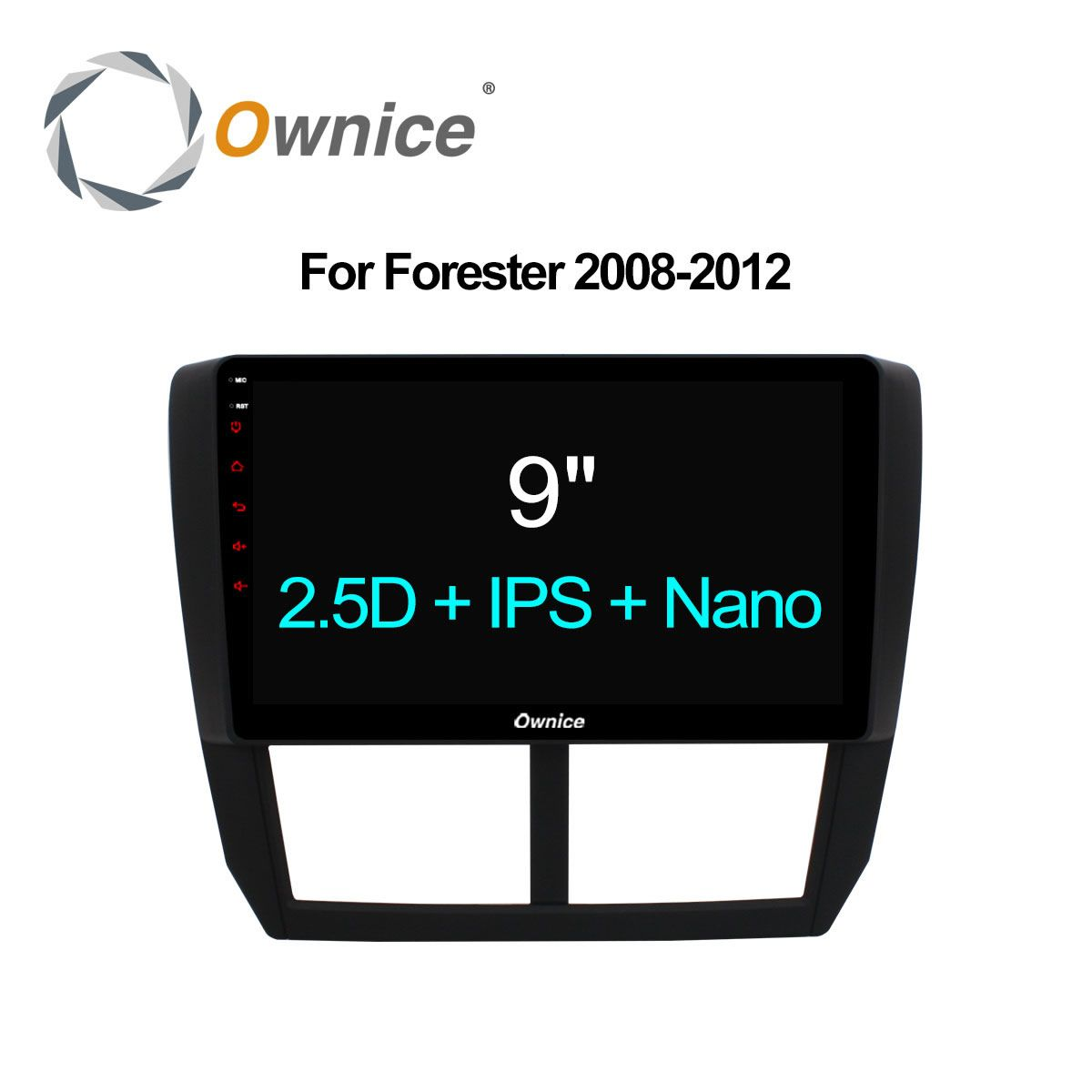 Ownice C500 + Octa-core Android 6.0 32G ROM 2.5D IPS Auto DVD GPS Navi Player Radio Für Subaru Forester XV WRX 2008 2009-2012