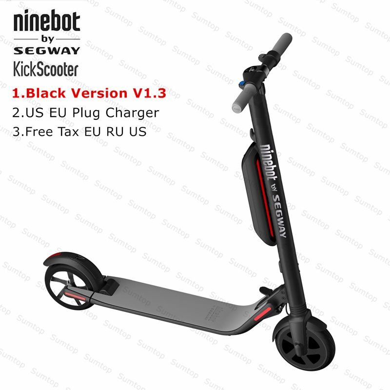 Ninebot KickScooter ES4 Smart Electric Kick Scooter foldable lightweight board hoverboard skateboard with APP hover board V1.3