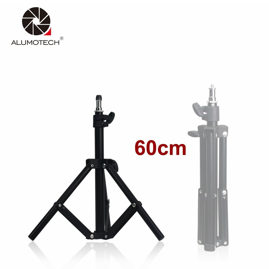 ALUMOTECH Mini Table Stand Table Tripod Max Height 60cm For Camera Video Studio Photography Support Equipment Support