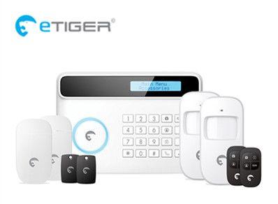 Big discount LCD display PSTN GSM Etiger S4 GSM Alarm system Home Burglar Alarm Kit with SMS and App Alert