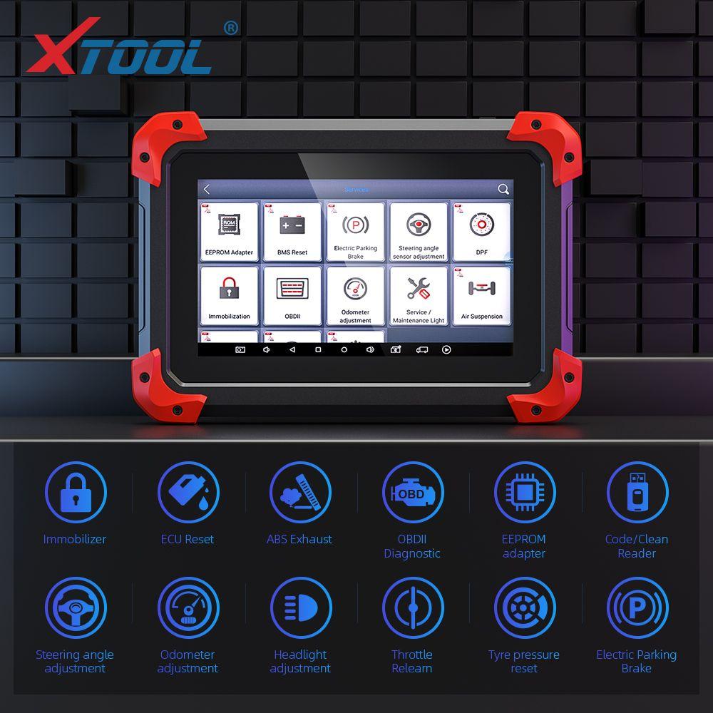 X100 PAD Professional Key Programmierer OBD2 Diagnose Scanner Automotive Code Reader Multi-Sprache mit EEPORM Update online