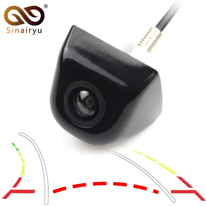 Car Intelligent Dynamic Trajectory <font><b>Tracks</b></font> Parking Line Rear View Camera Reverse Backup Vehicle Camera For Android DVD Monitor