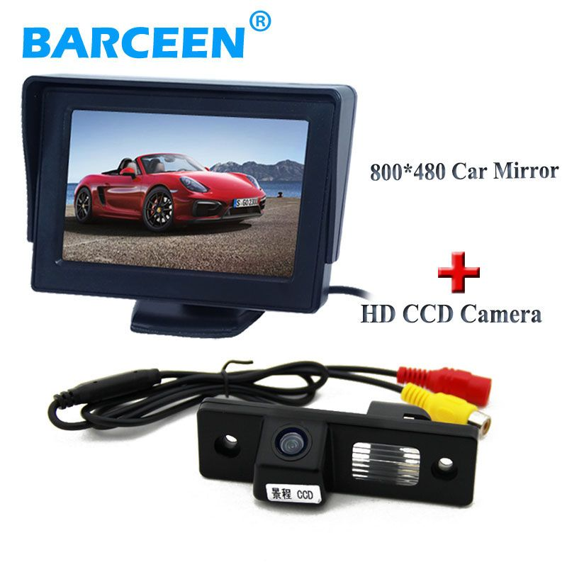 Color display car rearview monitor +170 wide view degree car reserve camera for CHEVROLET EPICA/LOVA/AVEO/CAPTIVA/CRUZE/LACETTI