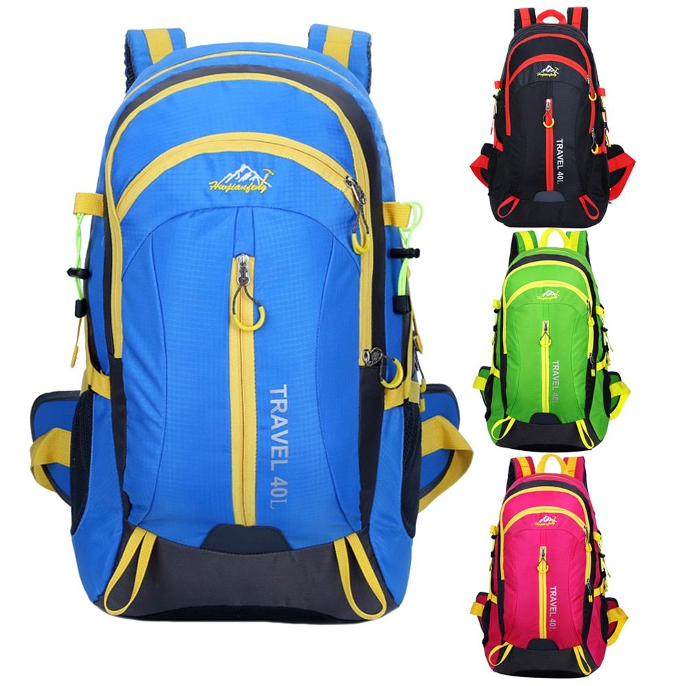 High Quality Waterproof Nylon Sport Backpack Soft Padded Straps 4Colors Outdoor Backpack Athletic Sport Travel Backpack