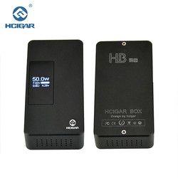 Asli Kotak Hcigar HB-50 Mod 7-50 W kontrol Gravitasi penyesuaian Variabel Watt APV Mod rokok elektronik