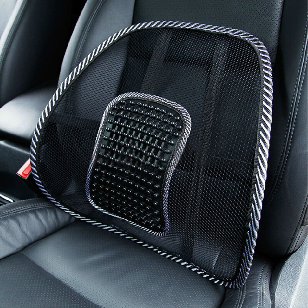 2Pcs Car Back Seat Support Mesh Lumbar Back Brace Support Cool Summer Car Seat Office Home High Quality Back Seat Cushion
