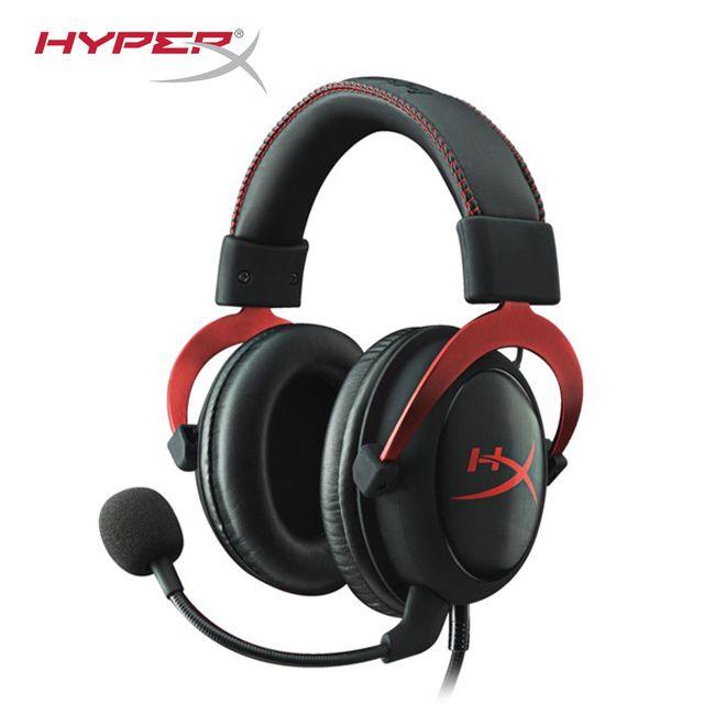 2015 Kingston HyperX Cloud II Hallo-fi Gaming Headset für PC PS4 Xbox 7,1 Virtual Surround Sound mit Noise Cancelling mikrofon