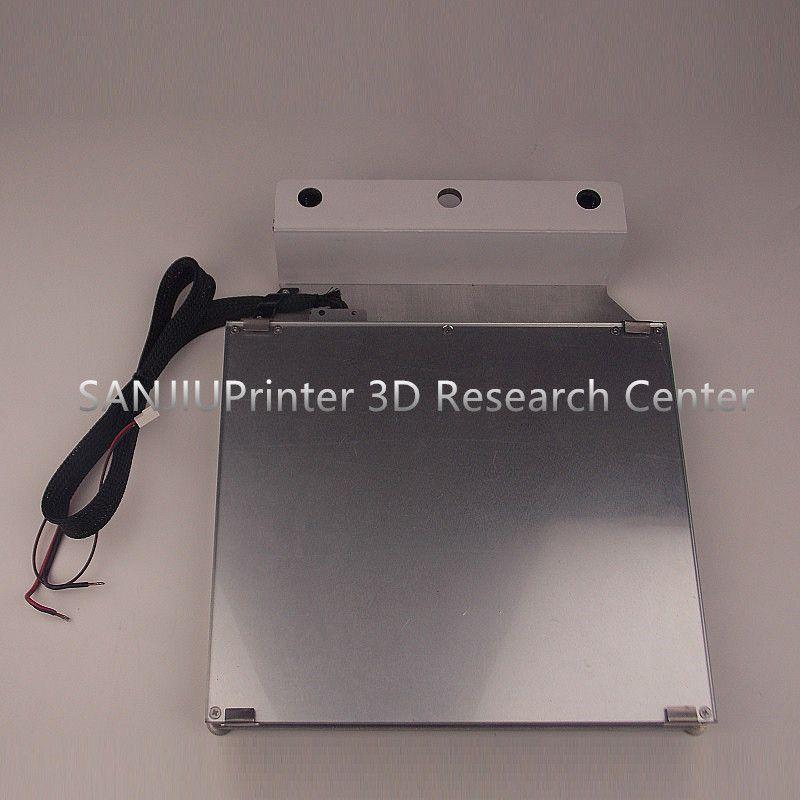 Ultimaker 2 + UM2 Erweiterte 3D Drucker Plattform Kit Beheizte Bett Tisch Glas Aluminium Drucktischdecke Basis Plattform Kostenloser Versand!