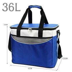 2019 термальная сумка для путешествий или путешествия пикника большая емкость натуральная Автомобильная сумка-холодильник для завтраков хо...