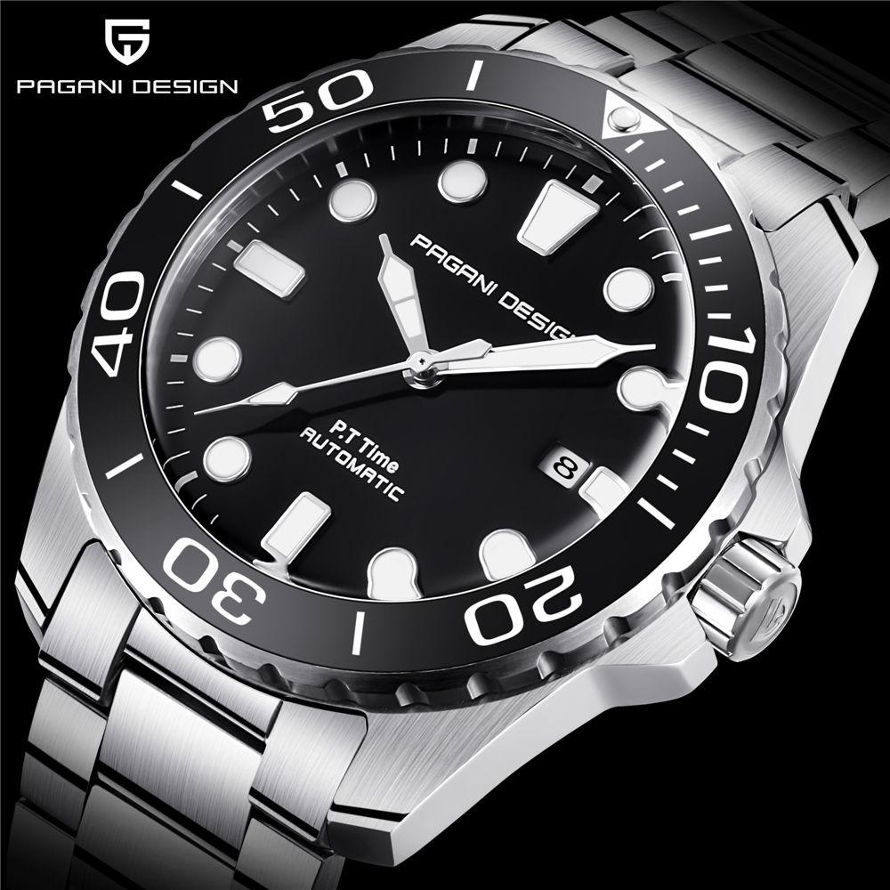 PAGANI DESIGN 2018 männer Military Sport Mechanische Uhren Wasserdicht Edelstahl Top Marke Luxus Männer Uhr dropshipping