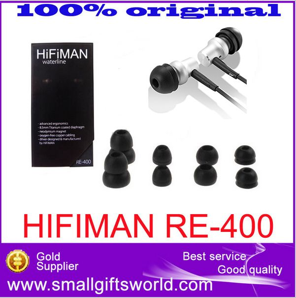 100% Original HiFiMAN RE-400 re400 High Hifi Accessories Fever Performance New In-ear Earphone Free Shipping