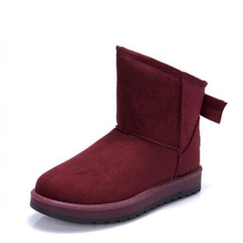 Botas de nieve botas femeninas botines para las mujeres 2017 mujeres de moda las botas de invierno botas zapatos mujer zapatos de las mujeres zapatos de invierno