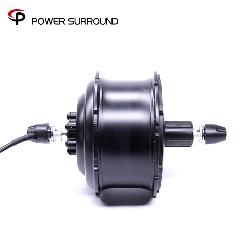 Hot Sale 2018 48v500w Dgw25 Rear Fat Hub Motor Bicicleta Eletrica Electric Bike Kit Free Shipping