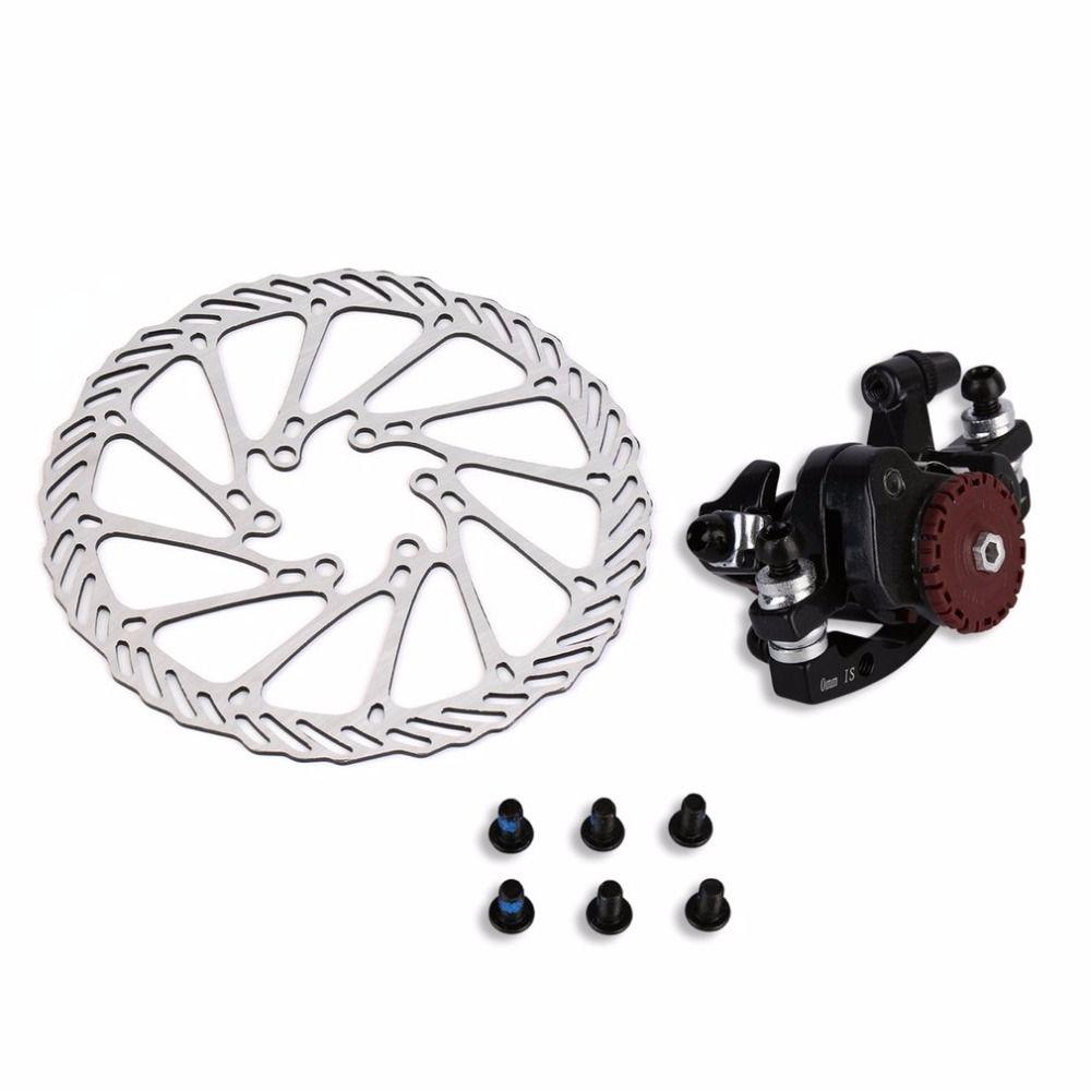 Hgih Quality BB7 MTB Bike Brakes Disc Caliper Mechanical Front Wheel 160mm Rotor New