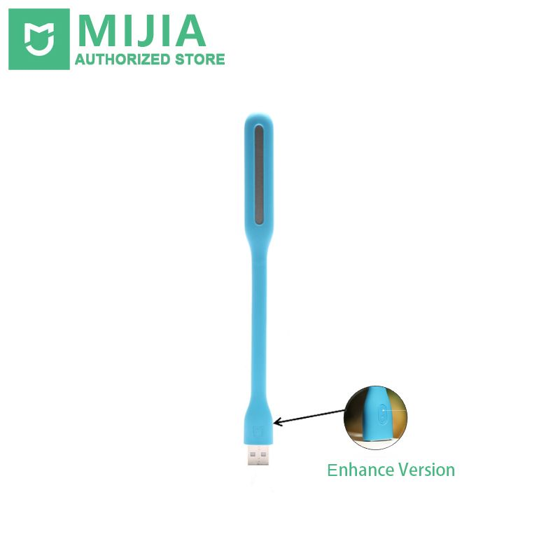 Original Xiaomi Mijia USB LED Light With Switch, 5 levels brightness USB for Power bank / laptop Notebook, Portable LED lights