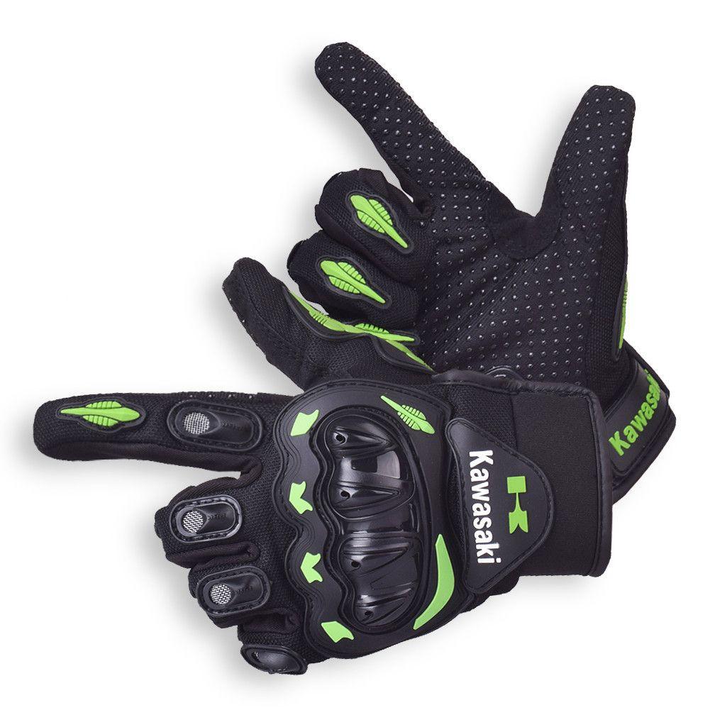 Kawasaki Motorcycle Gloves Motocross Guantes Moto Motocicleta Luvas Cycling Mountain Bike gloves Gants Motorbike