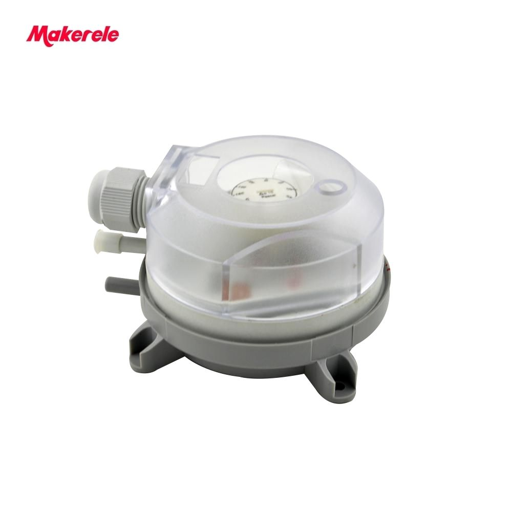 Air Differential Pressure Switch 20-200Pa 30-300Pa 50-500Pa 1K-5KPa Adjustable Micro Pressure Air Switch High Quality