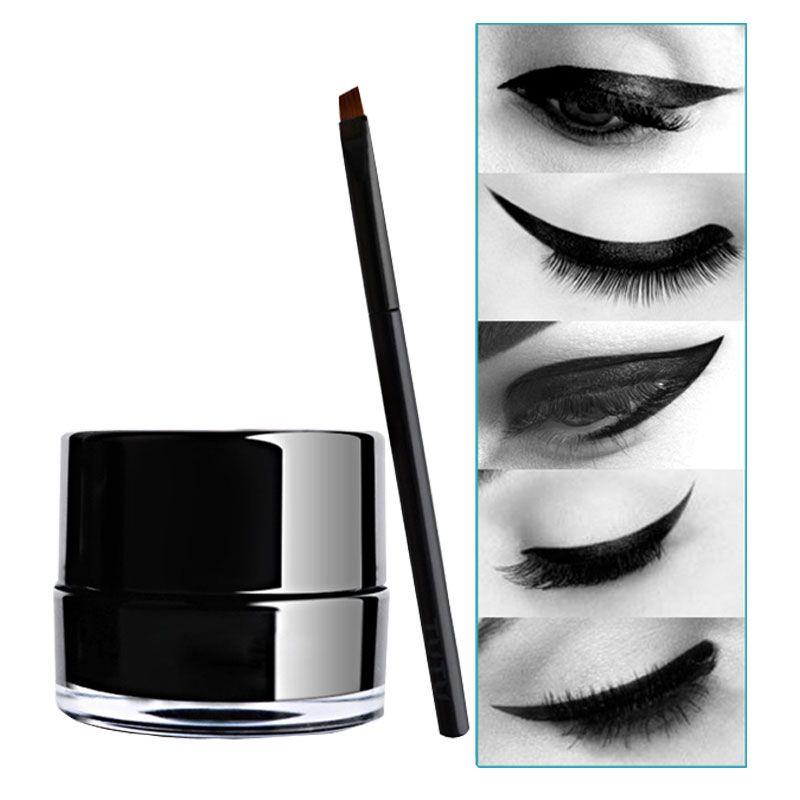 XIXI air cushion eyeliner cream waterproof eyeliner gel black brown gel eyeliner deliniador fast dry not blooming