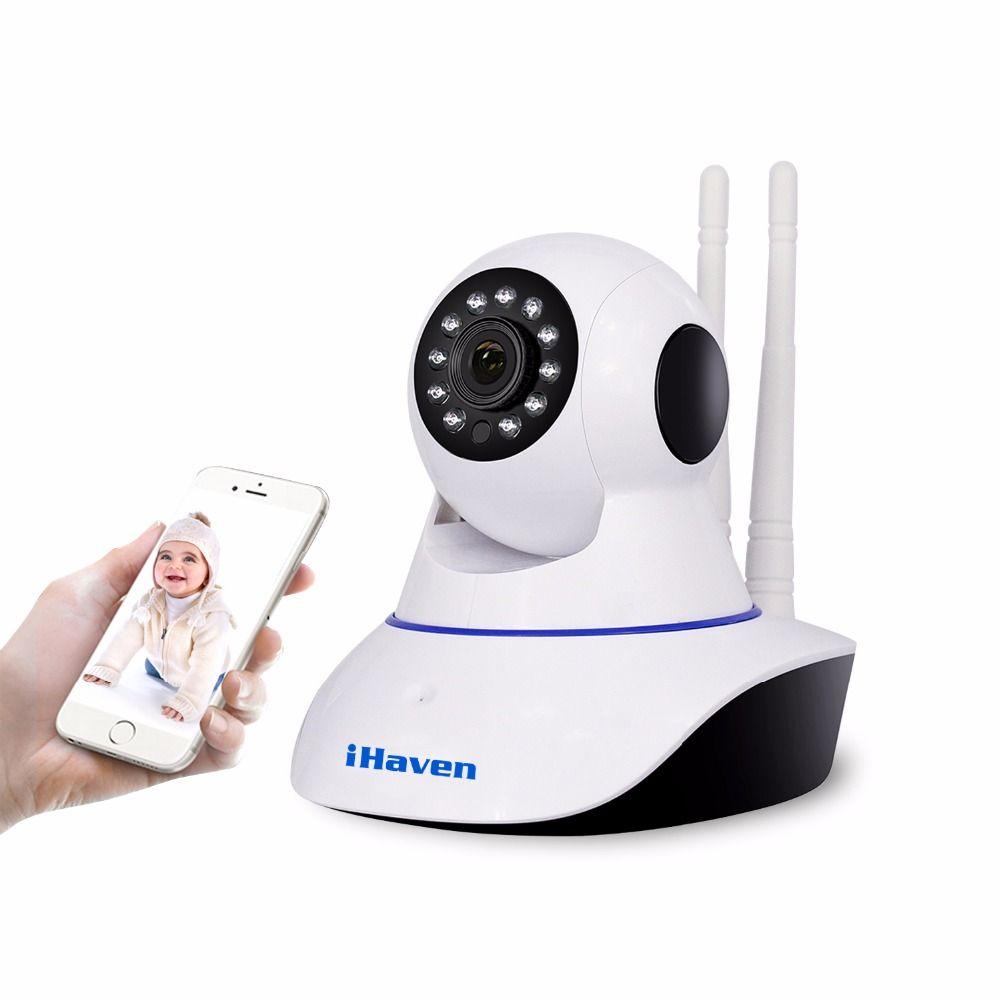 IHaven Domótica Seguridad Wifi Cámara 720 P HD de Almacenamiento En la Nube P2P Cámara Wi-fi IP Red de Vigilancia de Visión Nocturna Por INFRARROJOS inalámbrica