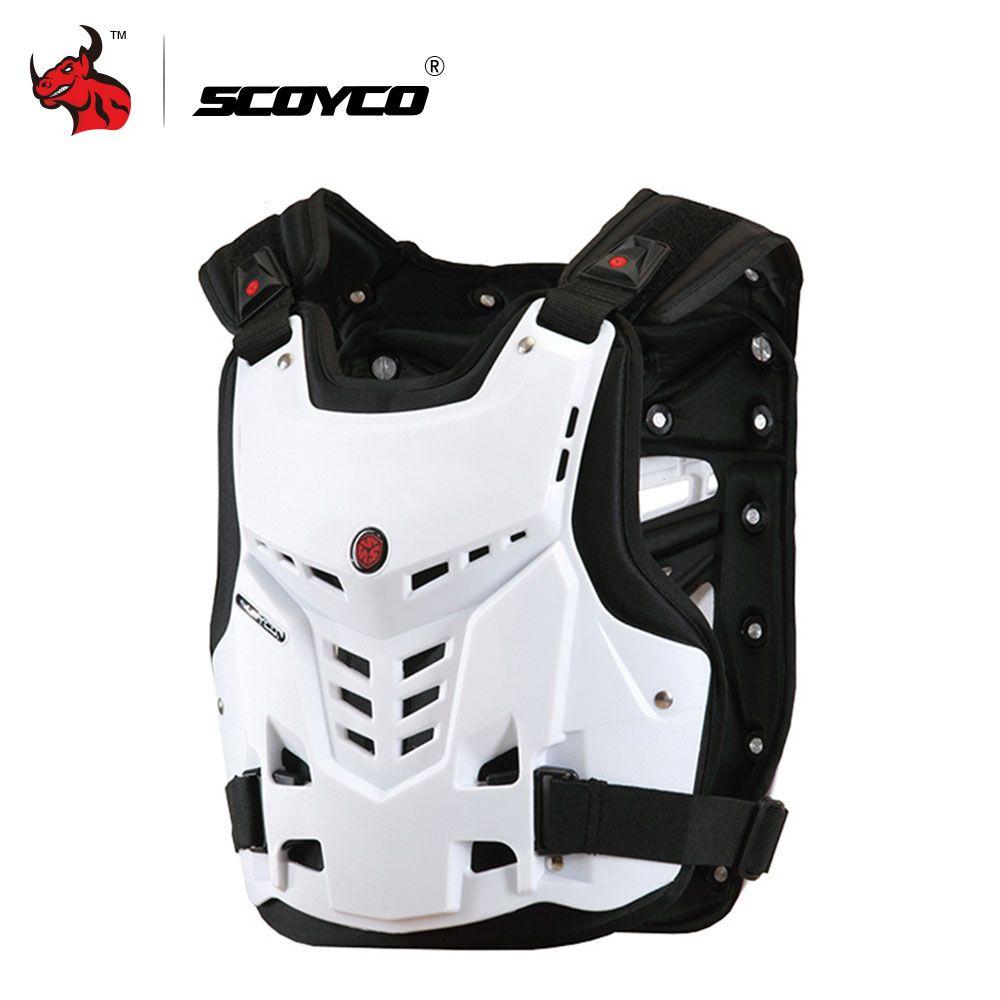SCOYCO Racing Moto Armure Motos D'équitation Poitrine Et Dos Protecteur Armure Motocross Off-Road Racing Gilet