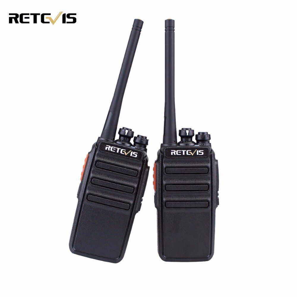 2pcs Retevis RT24 Walkie Talkie PMR446 UHF 0.5W License-Free VOX Scan Scrambler Ham Radio Hf Transceiver