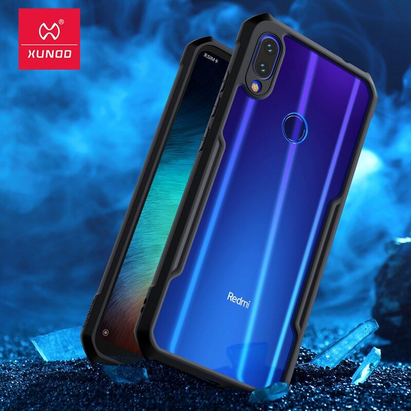Pour xiaomi rouge mi Note 7 7 cc9 Pro Transparent acrylique + TPU XUNDD étui de téléphone pour xiaomi K20 Pro mi 9T Pro anneau housse de protection