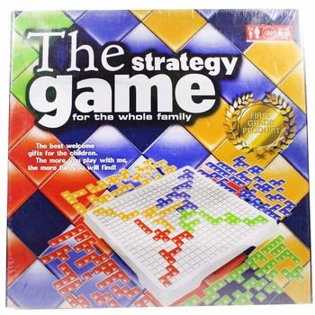 Intellectual Puzzle Blokus Board Game English Version Party Games for Children IQ Toy Kids Tos Family Game 2 Player/4 Player Set