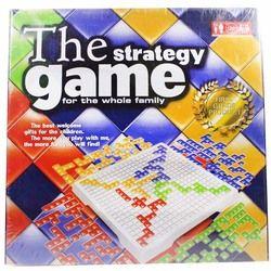 Puzzle Intelektual Blokus Board Game Versi Bahasa Inggris Pesta Permainan untuk Anak-anak Mainan Anak-anak TOS Permainan Keluarga 2 Pemain/4 pemain Set