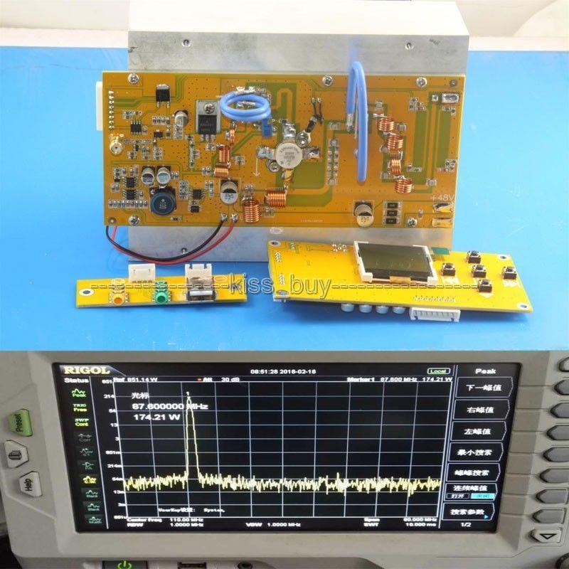 150 W 76 M-108 MHz Transmetteur FM Numérique LED FM Radio Station PLL Stéréo fréquence