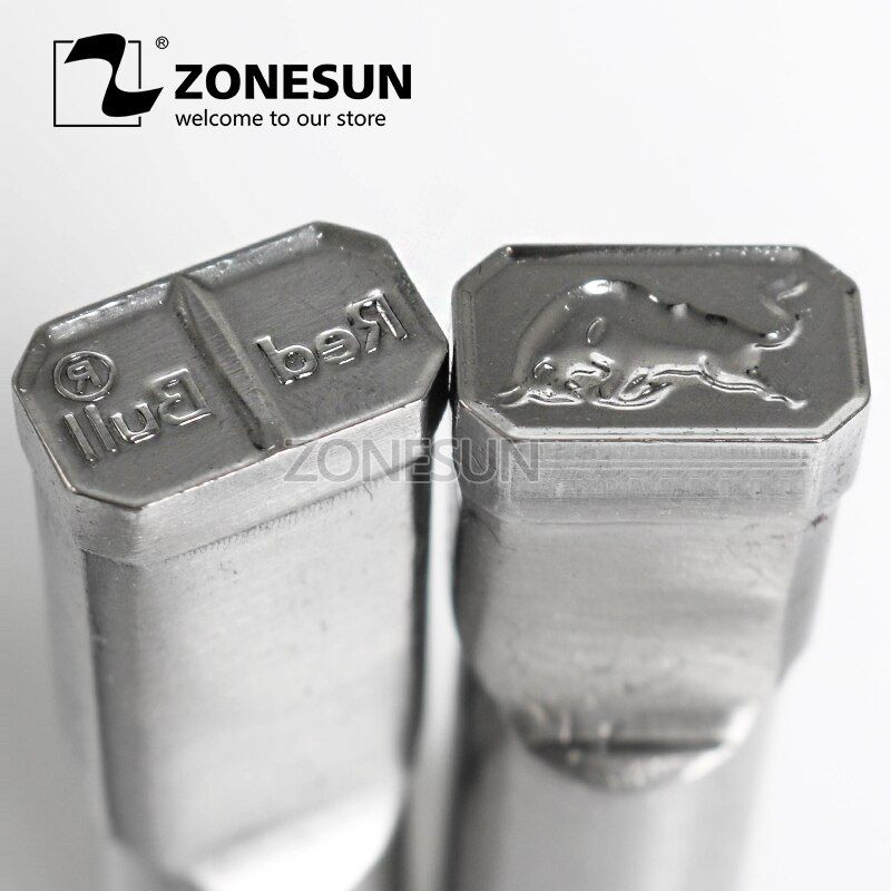 ZONESUN Bull logo customized Sugar Stamp precision punch die mold tablet press tool punch and die TDP 0/1.5/3/5
