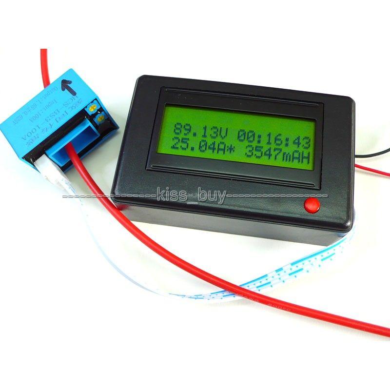 DC 120V 300A Bluetooth receiver Digital ammeter voltmeter power meter Timer battery tester software Monitor dc 12v 24v