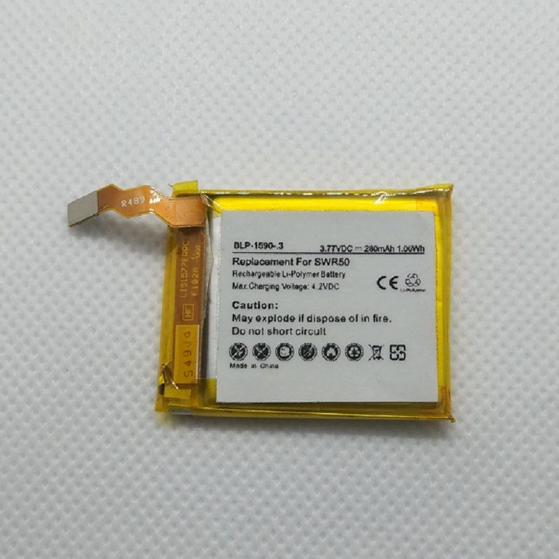 Replacement Battery for Sony SmartWatch 3 SWR50 SWR 50 Smart Watch 3.8V 280mAh Li-Polymer Lithium Rechargeable Accumulator+Track