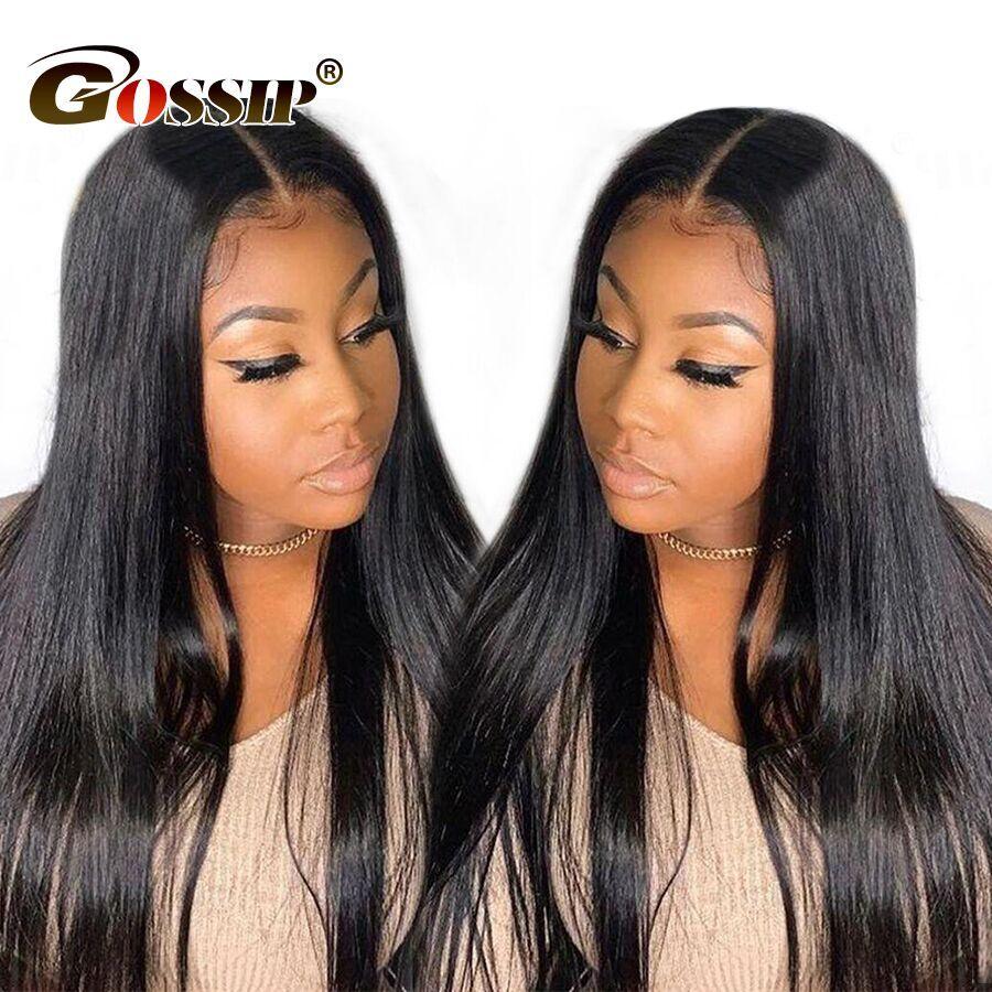 13x6 perruque avant en dentelle Remy perruques de cheveux humains avant en dentelle droite perruques de cheveux humains pour les femmes noires peuvent 13x4 perruque de fermeture frontale en dentelle