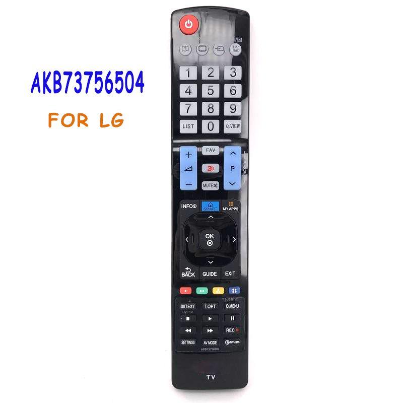 Télécommande universelle Pour LG LED LCD HDTV Smart TV AKB73756504 AKB73756510 AKB73615303 AKB73756502 32 42 47 50 55 84 Contrôle