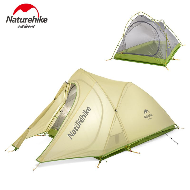 Naturehike 2 Person Ultralight Tent Outdoor Camping Hiking Waterproof Tent Picnic Equipment NH17T007-TQY