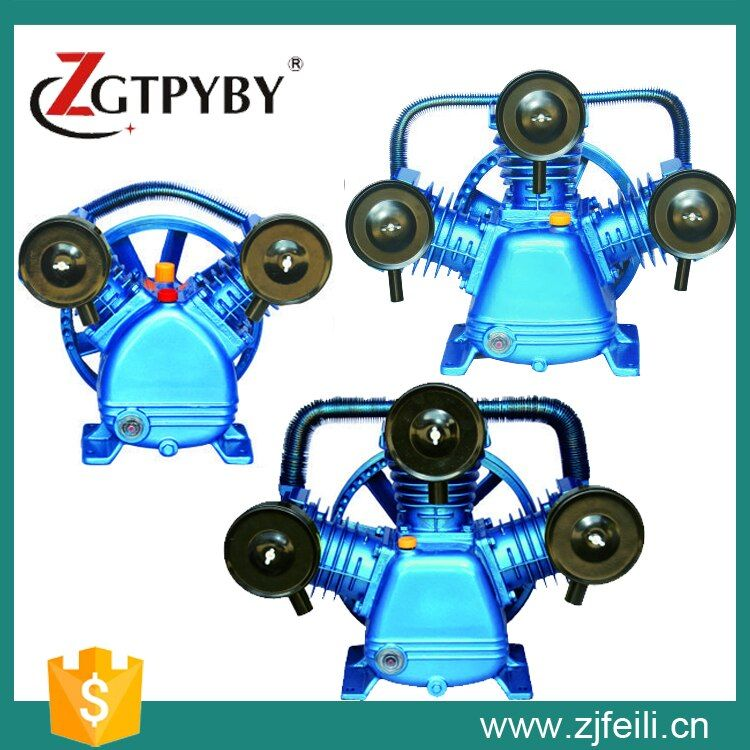 W3090/8/12.5 7.5kw Piston Air Compressor head for Sale piston air compressor head air compressor cylinder head