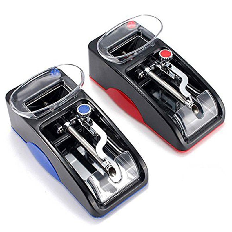Machine à cigarettes électrique Machine à plastifier automatique facile outil de bricolage de rouleau d'injecteur de Cigarette de tabac électronique