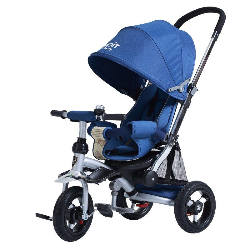 3 in1 baby tricycle High Quality Baby Stroller trike 3 rubber Wheels and high carbon frame kids Tricycle Cart