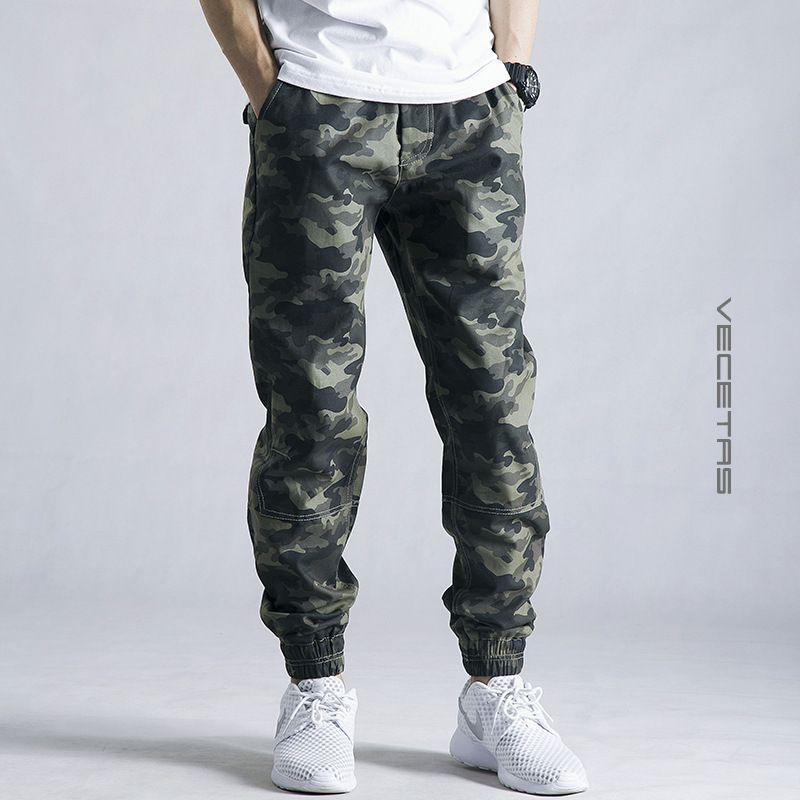 Sweatpants Military Mens 2017 Men Casual Pants New Camouflage Slim Fit Army Camouflage Trousers joggers Camo <font><b>track</b></font> Pants 28-42