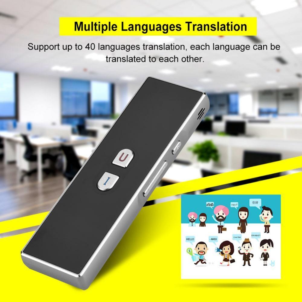 40 Languages Portable Voice Translator 2.4G Wireless Optical Intelligent Translator Travel Traductor Photographing Translation