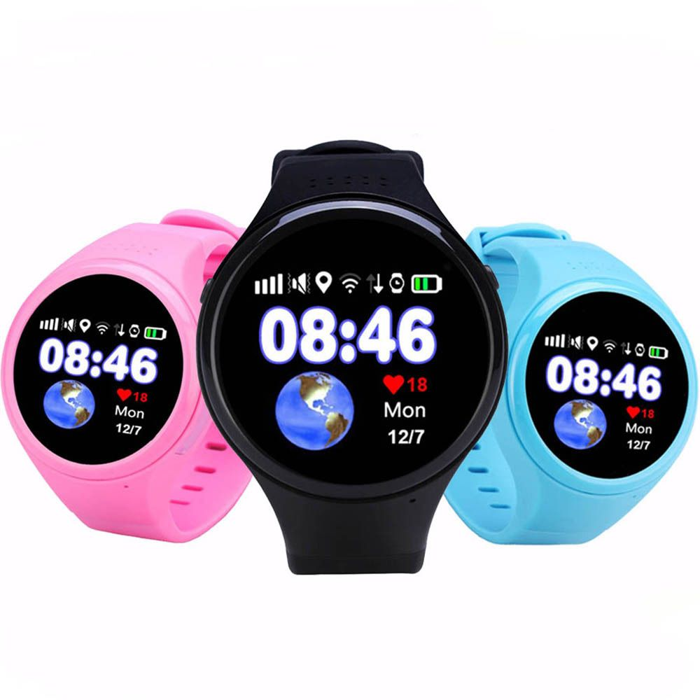 GPS smart watch Child baby watch T88 with Wifi SOS Call Location Device Tracker for Kids/old man Safe Anti-Lost Monitor PK Q90