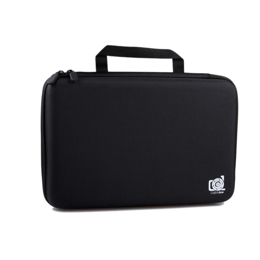 Lightdow Large Size Gopro Case Water Resistant Protective EVA Bag Storage Box For Go Pro Hero 6 5 4 3+ SJCAM EKEN SOOCOO XIAOYI