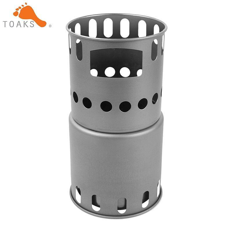 2017 Hotsell Toaks Titanium Stove STV-11 Outdoor And Camping Titanium  Backpacking Wood Stove