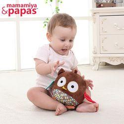 Baru Lahir Bayi Mainan Boneka Menghibur Dengan BB Guncang Mainan Untuk Pendidikan Mainan bayi 0-3 Tahun Bermain Bayi Owl Menenangkan Boneka HB BAYI